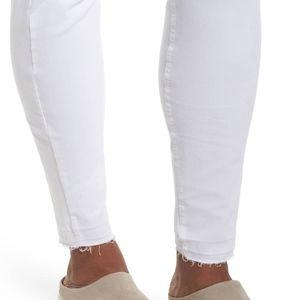 6dbe0a01bb HUE Pants - Hue Selvage Edge Ripped Denim Leggings